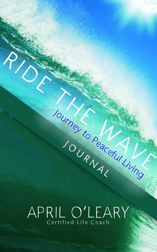 RIDE the wave Journal Cover
