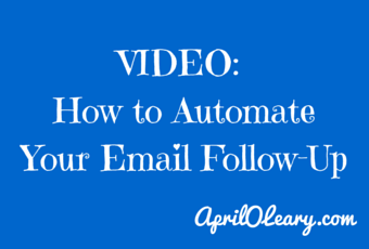 14 09 16 Video- Automate email followup