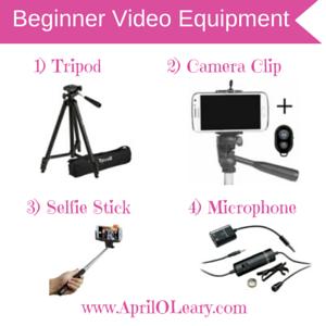 Beginner Video Equipment