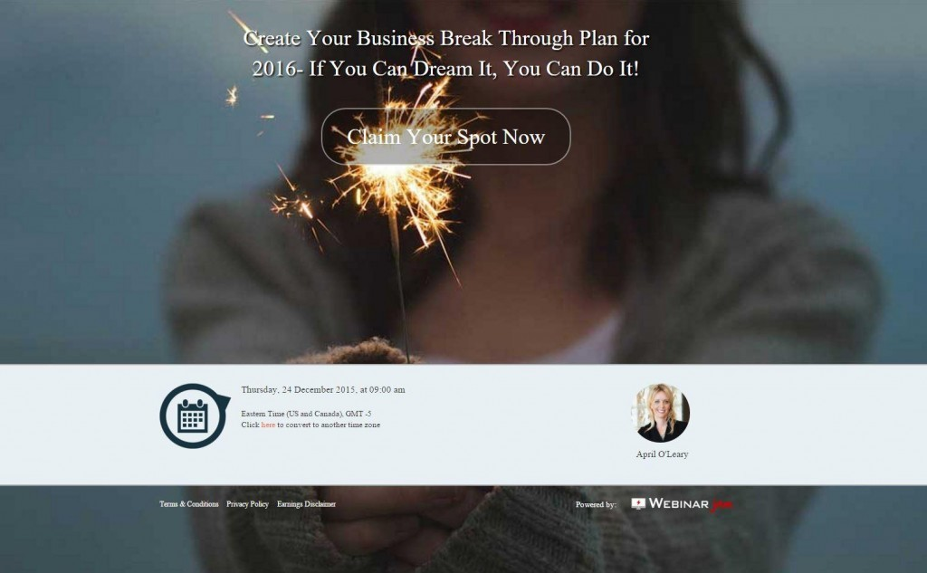 Vision Webinar 2016