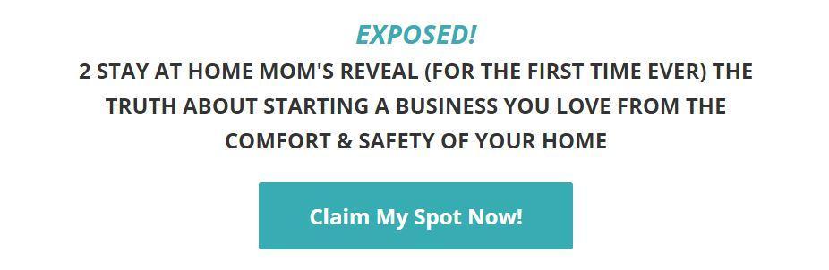 Home business webinar for moms