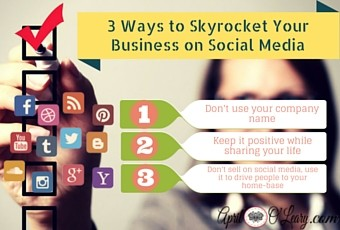 3 Ways to Skyrocket Your Business on Social Media