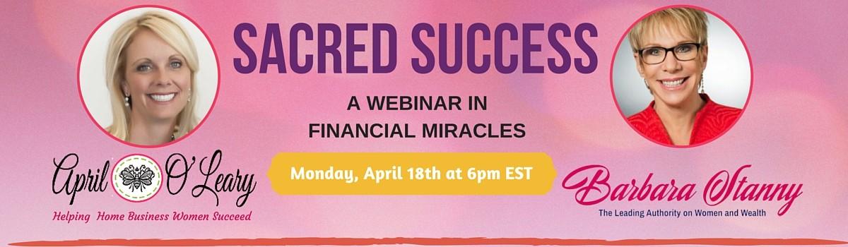 Webinar_ Sacred Succeess