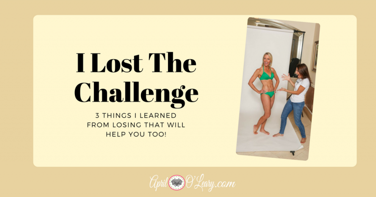 3 Things I Learned From Losing That Will Help You Too