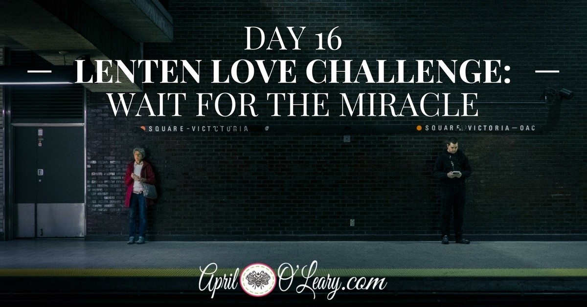 Day 16: Wait for the Miracle