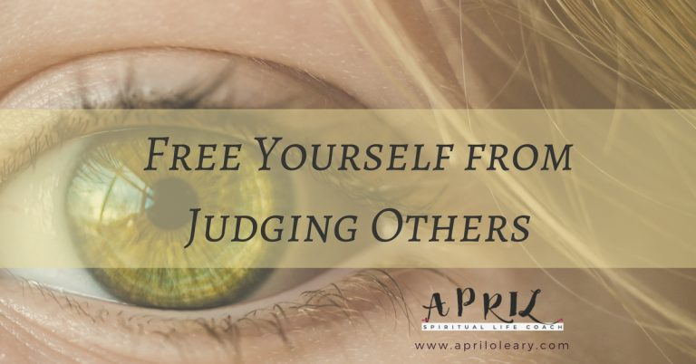 Freedom From Judging Others