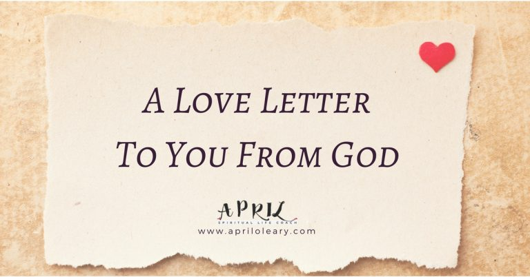 A Love Letter To You From God