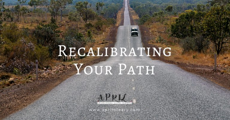 Recalibrating Your Path