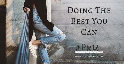 Doing The Best You Can